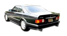 1981-1991 Mercedes S Class W126 4DR Duraflex AMG Look Rear Bumper Cover (euro spec) - 1 Piece