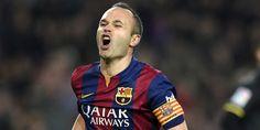 Barca Vs M City, Iniesta Khawatirkan Ancaman di Camp Nou - Pemain Barcelona, Andres Iniesta mengingatkan rekan satu timnya terkait...