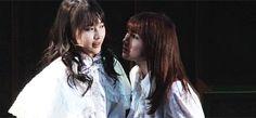 モーニング娘。'14 - 鞘師里保 Sayashi Riho、石田亜佑美 Ishida Ayumi :GIF