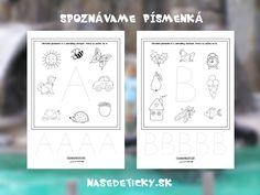 Vytlačte si pracovné listy pre prvákov - písmenká. Slovak Language, Playing Cards, Leo, Playing Card Games, Lion, Game Cards, Playing Card