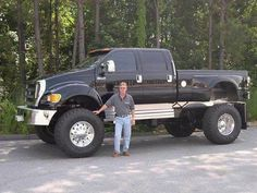 Ford Extreme Pick Up Truck F650 Trucks, Lifted Ford Trucks, 4x4 Trucks, Custom Trucks, Cool Trucks, Ford F650, Rv Truck, Old Pickup Trucks, Pick Up Ford