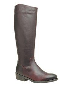 Bordeaux Ashighbis Boot