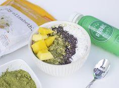 Matcha Mango Soaked Muesli | purely elizabeth #PurelyRebblRecipes #eatpurely #breakfast