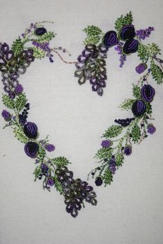 Romantic Heart ~ Brazilian Embroidery