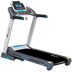 Powermax Fitness HP) Motorized Treadmill with Track UI and Android & iOS Application Treadmill, 400m, Bluetooth Headphones, Fitness, Ios, Track, Android, Runway, Running Belt