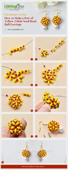 2-tone beaded bead picture tute #Seed #Bead #Tutorials