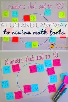 Helping students to learn math facts and practice these facts can be challenging. Here I share another fun and easy activity that you can use to allow your students to practice their math facts and the compatible numbers mental math strategy. And best of all it's easy to set up and implement!