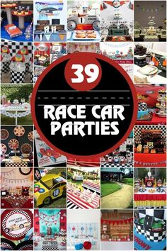 Boys Race Car Party Ideas