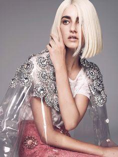 #ranitasobanska #fashion #inspirations Cristina Herrmann And Holly Rose By Jem Mitchell For Vogue Turkey