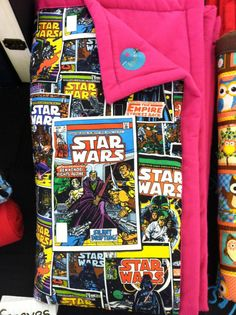 Star Wars crib blanket