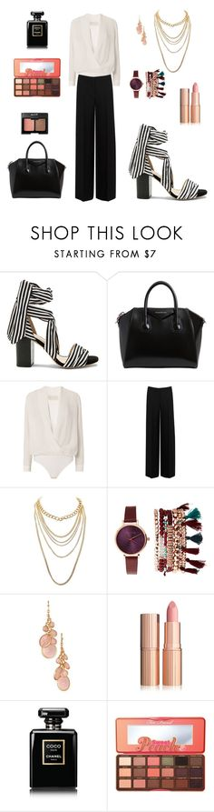 """classic"" by leina-elansary on Polyvore featuring Raye, Givenchy, Michelle Mason, Alexander McQueen, Charlotte Russe, Jessica Carlyle, Avon, Chanel and Too Faced Cosmetics"
