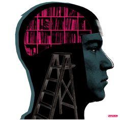 We are what we read / Somos lo que leemos (ilustración de Andy Martin)