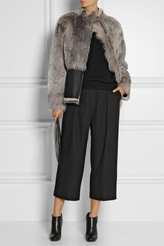Zero+MariaCornejosarki shearling #coat
