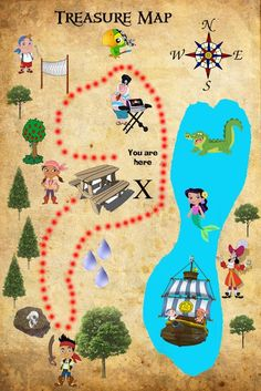 Family Focused: Jake and the Neverland Pirates Birthday Party