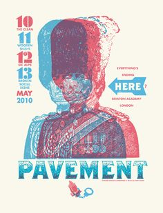GigPosters.com - Pavement - Wooden Shjips - Clean, The - Broken Social Scene