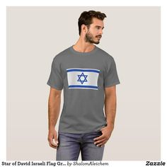 Israeli Flag, Star Of David, Personalized Stationery, Tshirt Colors, Fitness Models, How To Make, How To Wear, Unisex, Stars