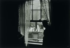 Gisèle Freund - Man at the Window, Newcastle upon Tyne, 1935