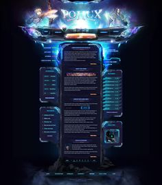 Pollux2 - Webdesign by King--Sora