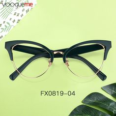 6038cf8312e Shania Browline Dark Green Eyeglasses These semi-rimless glasses bring a  glamorous appearance with