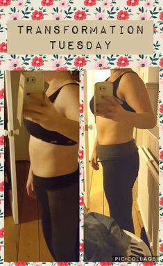 Transformation after a 21 day programme. This was amazing to do.
