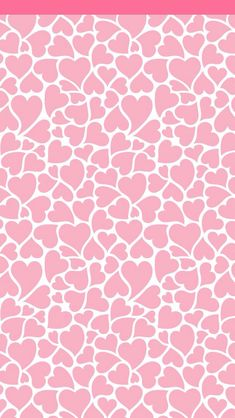 Corazones rosas Wallpaper.