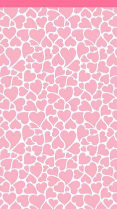 Corazones rosas Wallpaper.