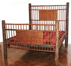 Old Hickory double bed