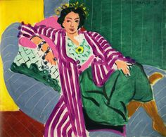 Odalisque with Striped Dress, 1937