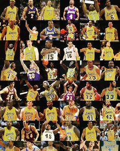Wow some i remember some i forgot The Lakers in numerical order. Anyone  remember Eddie da1153597ebb6