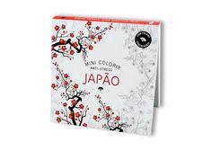 Mini Colorir Anti-Stress Japão