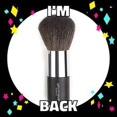 I'm back! #powderpuffbrush