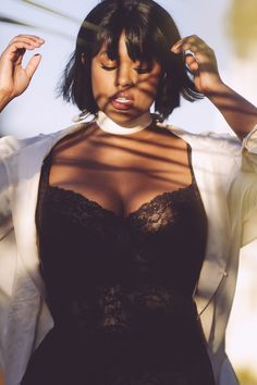 Plus size Model Precious Lee with IMG Models NYC Photographed in San Francisco