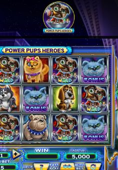 Power Pups Heroes Slot Machine  Can you help these innocent pups get their beloved queen back? Well, if you can, remunerations of highest order are in store for you. How, you ask? Read on to know first-hand…