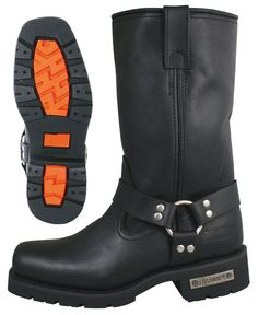 Motorcycle Harness Biker Boot with Lug Sole Motorrad Harness Biker Boot mit Lug Sohle Rock Boots, Buy Boots, Riding Gear, Riding Boots, Men's Shoes, Shoe Boots, Mens Motorcycle Boots, Mens Boots Fashion, Womens Fashion