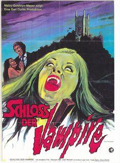 House Of Dark Shadows (1970). German movie poster.
