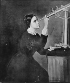 August 2018 marks the birthday of astronomer Maria Mitchell! Remembered as the first professional female astronomer in the United States, Mitchell became famous when she discovered a comet with her telescope in Explore Maria Mitchell's on Geni! Great Women, Amazing Women, American Academy Of Art, Nasa History, Astrophysics, Badass Women, Professional Women, Women In History, American Women
