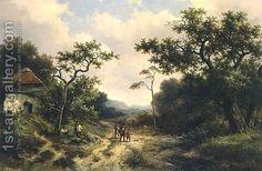 Barend Cornelis Koekkoek:Country Landscape