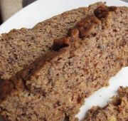 Plain Ol' Banana Bread (Nut Free) - looks super easy and yummy...gotta try soon.  I just need to check on my coconut flour supply and let my bananas get a few more spots.  :)