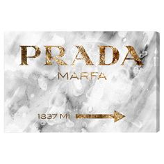 Hand-stretched multicolor canvas art with a graphic Prada reflection motif. Made in the USA. Product: Wall artConstruction...