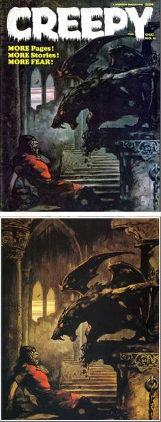 Creepy No.6, 65-12, Frank Frazetta, Warren Publishing.