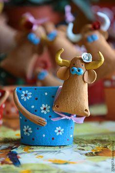 """Коровки """"Чудесные"""" - белый,корова,теленок,бык,стадо,поле,трава,горошек"""