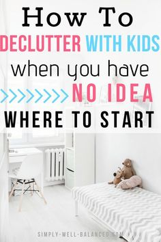 Looking for the best tips to declutter with kids? In this post 10 moms share their best organizing ideas to clear the clutter from your home once and for all. Get your life back with simple storage solutions for toys that will save you from cleaning all d