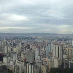 Sao Paulo from Terraco Italia