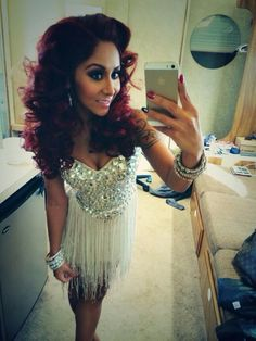 Snooki.. I like her so much more now than I used to
