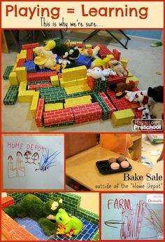 Down on the Farm - Dramatic Play - Play to Learn Preschool