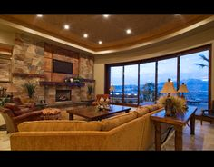 2011 Smith Parade Home - traditional - family room - other metro - by Tapestry Design, LLC