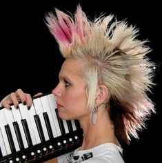 Punk hair styles -