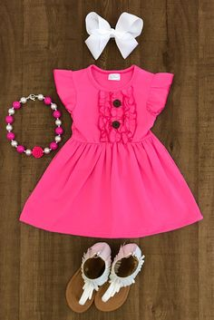 Shop cute kids clothes and accessories at Sparkle In Pink! With our variety of kids dresses, mommy + me clothes, and complete kids outfits, your child is going to love Sparkle In Pink! Cute Toddler Girl Clothes, Cute Baby Girl Outfits, Cute Outfits For Kids, Toddler Girl Outfits, Little Girl Dresses, Toddler Fashion, Kids Fashion, Toddler Girls, Baby Girl Frocks
