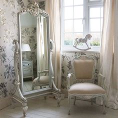 Bonaparte Dressing Mirror | Mirrors - furnish.co.uk