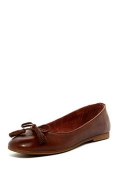 Liebeskind Leather Bow Ballet Flat
